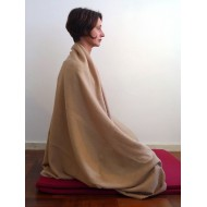 pashmina omslagdoek naturel