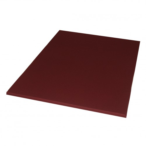 Meditatiemat  bordeaux polyether 70x90 cm - Lotus Design
