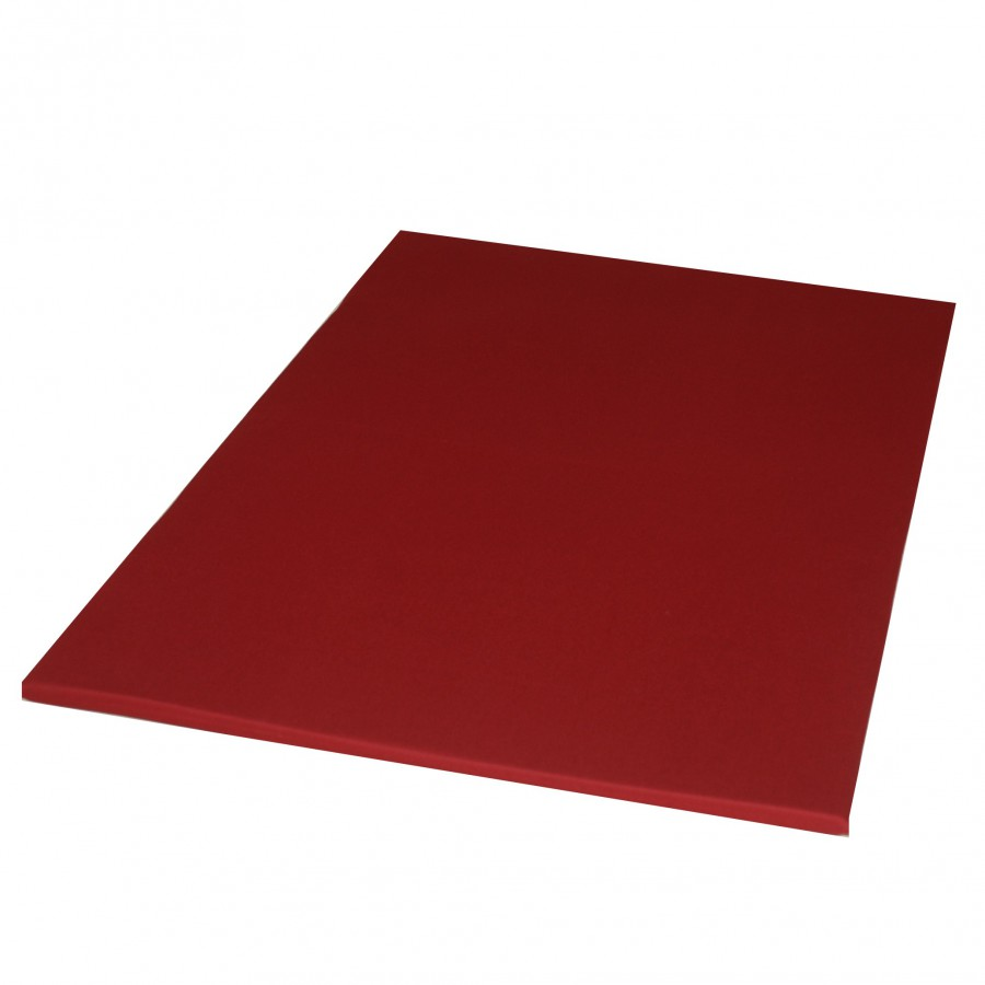 Meditatiemat  kersenrood polyether 70x90 cm - Lotus Design