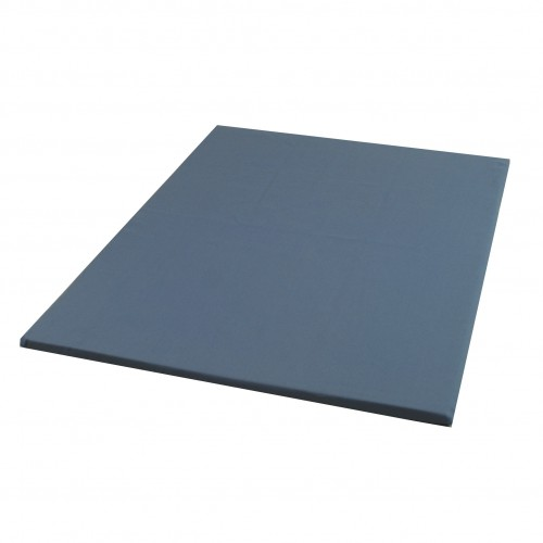 Meditatiemat  antraciet polyether 70x90 cm - Lotus Design